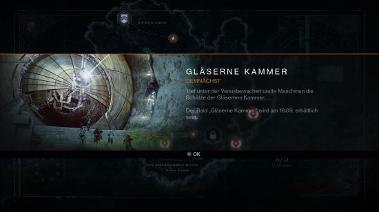 Vault of Glass die gläserne Kammer