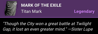 Mark of the Exile