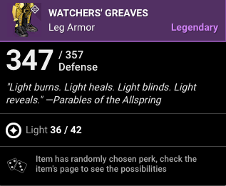 Watchers Greaves