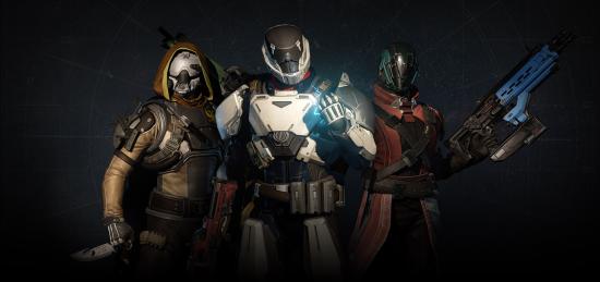 Hüter hunter titan warlock