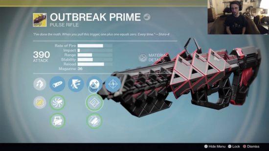 """Das neue Exo-Impulsgewehr """"Outbreak Prime"""""""