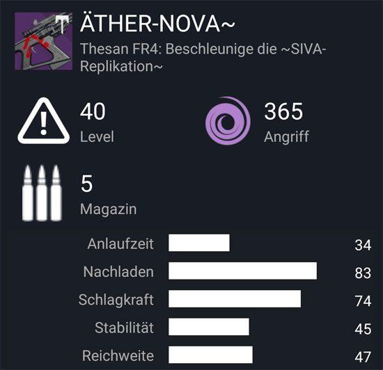 "Das Fusionsgewehr ""Äther-Nova ~"""