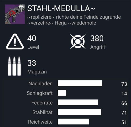 "Das Impulsgewehr ""Stahl-Medulla"""