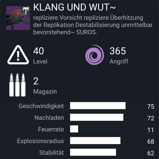 """Der Raketenwerfer """"Klang und Wut ~"""""""