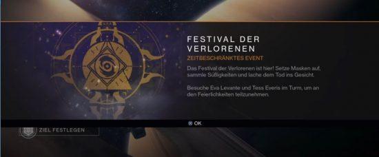 Ihr werdet im Orbit auf den Start des Events hingewiesen.