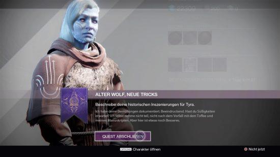 Nach den Kills endet die Suche bei Tyra Karn.