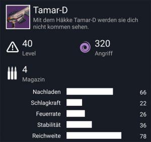 Waffentag-Lieferung Scharfschützengewehr Tamar-D
