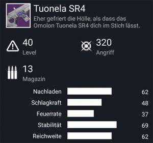Waffentag-Lieferung Scout-Gewehr Tuonela SR4