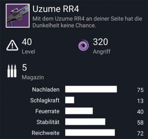 Waffentag-Lieferung Scharfschützengewehr Uzume RR4