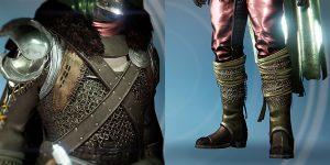 Jäger-Bein- und Brustschutz