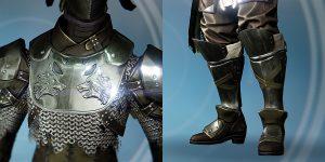 Titan- Bein -und Brustschutz
