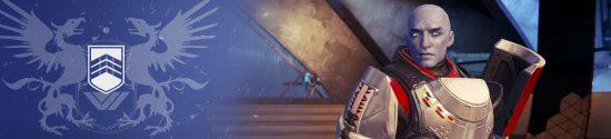 Commander Zavala der Titanen-Vorhut im Turm