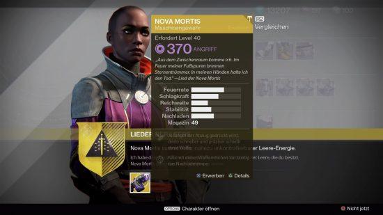 Ende der Nova Mortis-Suche