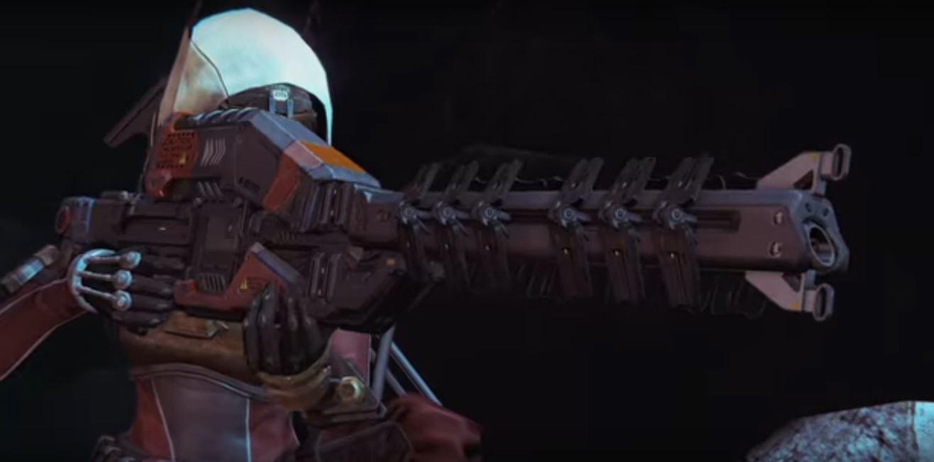 Destiny Jäger mit der neuen Version des Eisbrechers.