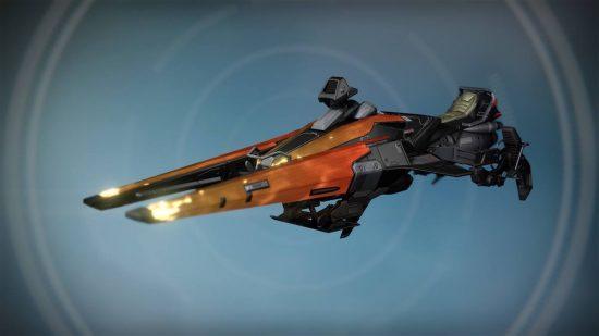 Pimp my Sparrow. Diese (Echtgold?) Sparrow-Variante kommt mit SRL neu ins Spiel.