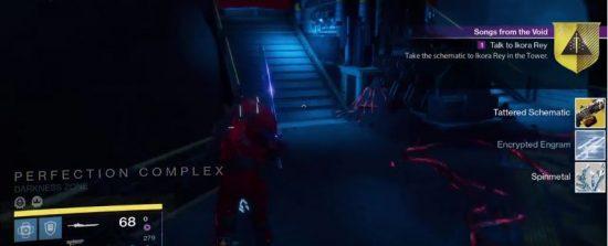 Start der Exo-Quest für das Maschinengewehr Nova Mortis