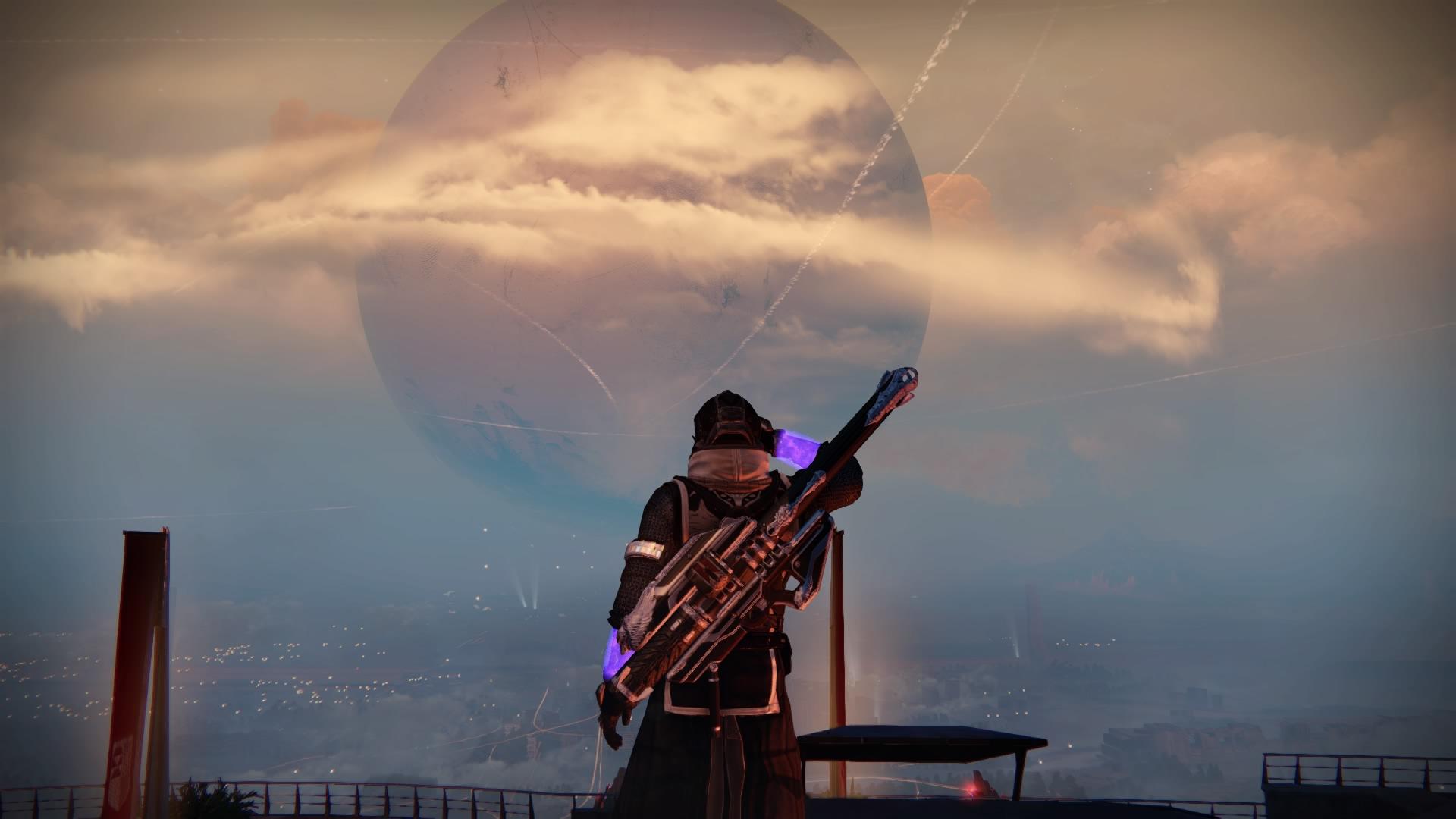 Hüter winkt im Turm zum Abschied