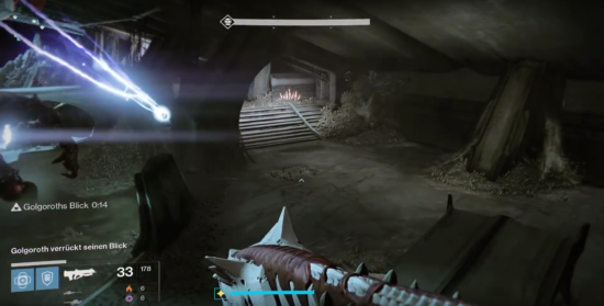 Raid-Guide Königsfall: Golgoroth wechselt seinen Blick