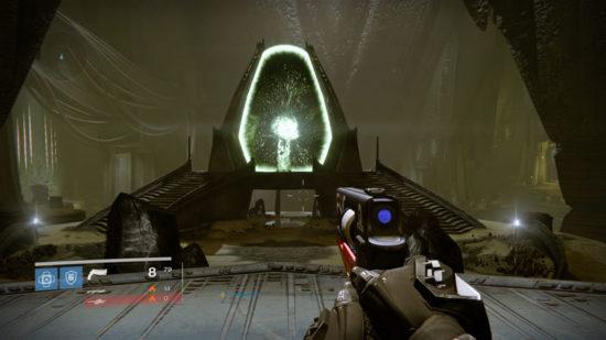 Raid-Guide Königsfall: Das Portal in den Raid ist offen.
