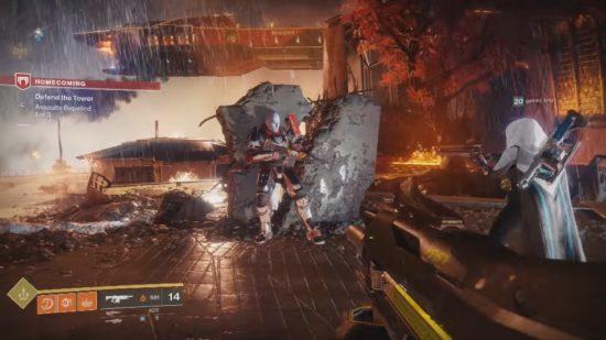 Destiny 2: Die Verteidigung des Turmes wird von Commander Zavala koordiniert.