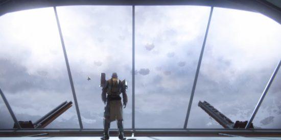Destiny 2: Eine große Kabal-Flotte konnte sich, durch den Sturm getarnt, der Stadt nähern.