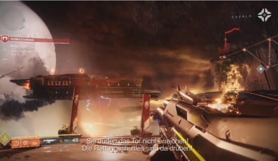 Destiny 2: In Homecoming müssen drei Wellen von Kabalen abgewehrt werden