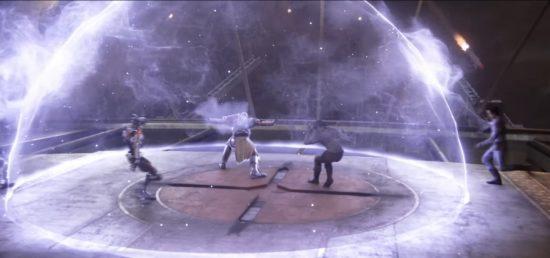 Destiny 2: Commander Zavala schützt die Besatzung des Turmes durch seinen Verteidiger-Fokus.
