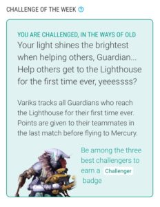 Variks Orisis Challenge