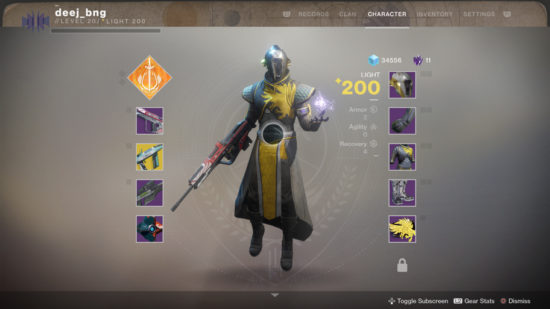 Destiny 2 neue Emblem-Position
