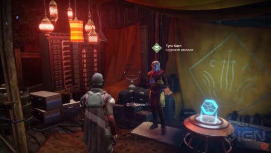 Tyra Karn auf der Farm in Destiny 2