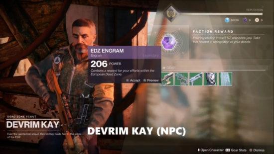 Devrim Kay aus Destiny 2