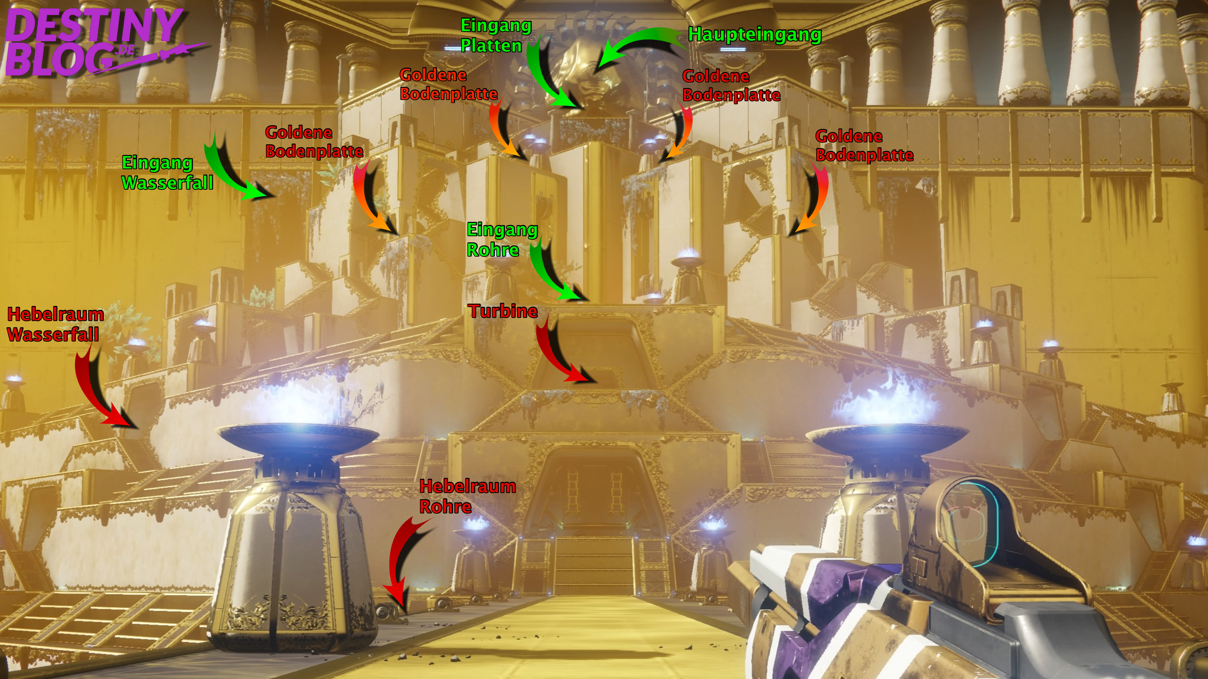 Destiny 2 Raid Karte.Destiny 2 Leviathan Raid Guide Labyrinth Im Unterbauch